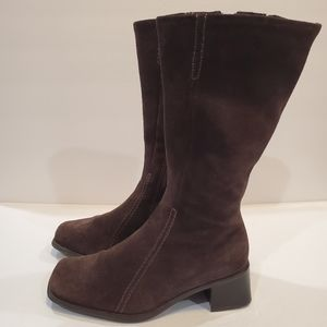 La canadienne brown boots womens size 5